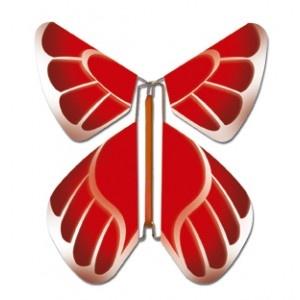 PROMOTION-FÊTES Papillon rouge