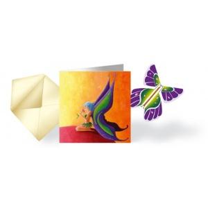 Abwicklung Karte& Schmetterling