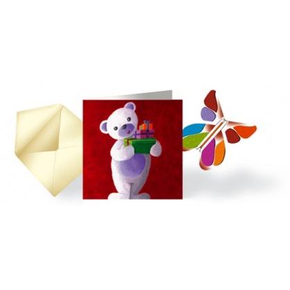 LIQUIDATION Carte & Papillon volant