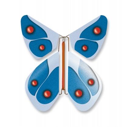 Magic Schmetterling rote Punkte