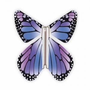 Papillon volant  New violet