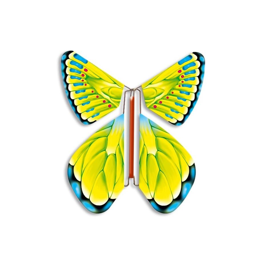 Летающая бабочка вкладыш в открытку