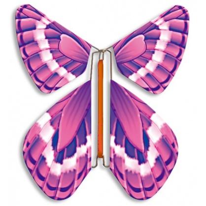 PROMOTION 10 Magic Butterflies purple pink