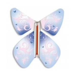 Papillon volant Baroque ciel