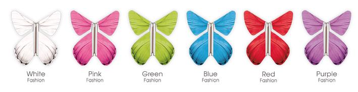 6 Papillons Magiques à choix
