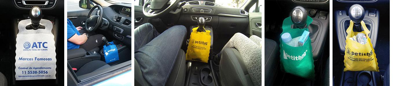 petitbag im Auto