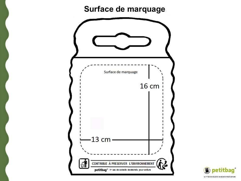 SURFACE DE MARQUAGE PETITBAG